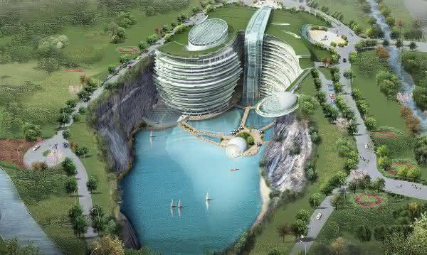 Songjiang InterContinental Hotel 2 entre os maiores projetos de construcoes no mundo