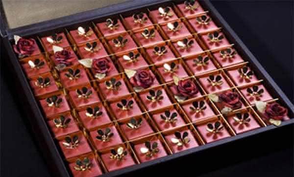 Swarovski Studded Chocolate entre os chocoloates mais caros do mundo