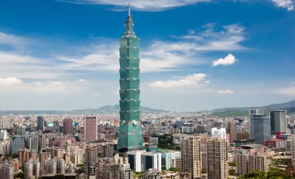 Taipei 101 entre os predios mais altos do mundo
