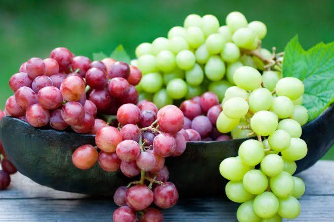 uva entre as frutas mais vendidas do mundo