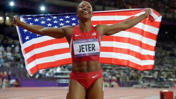 Carmelita Jeter entre as mulheres mais rapidas de todos os tempos