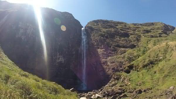 Casca DAnta entre as cachoeiras mais altas do brasil