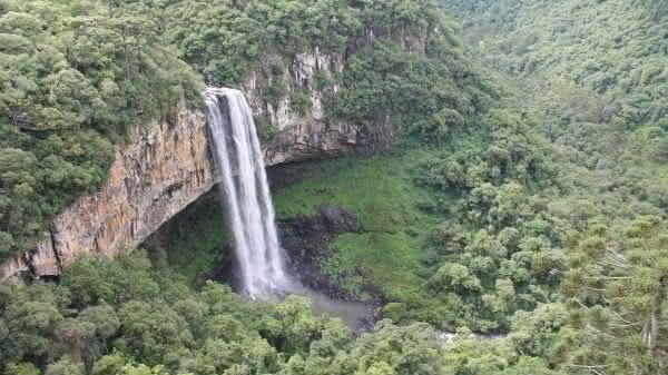 Cascata do Caracol entre as maiores cachoeiras do brasil