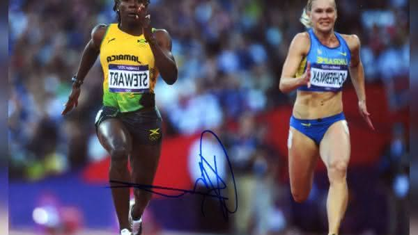 Kerron Stewart entre as mulheres mais rapidas de todos os tempos