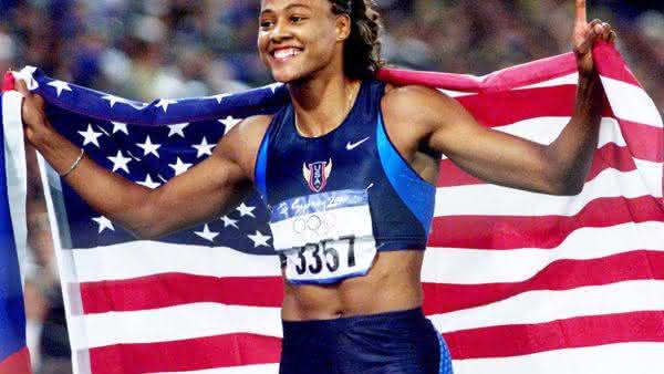 Marion Jones entre as mulheres mais rapidas de todos os tempos