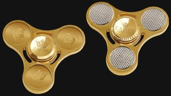 fidget spinner caviar entre os spinners mais caros do mundo