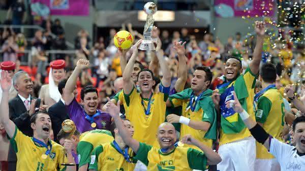 futsal entre os esportes mais praticados no brasil