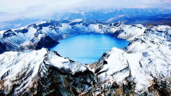Changbaishan entre as maiores erupcoes vulcanicas da historia