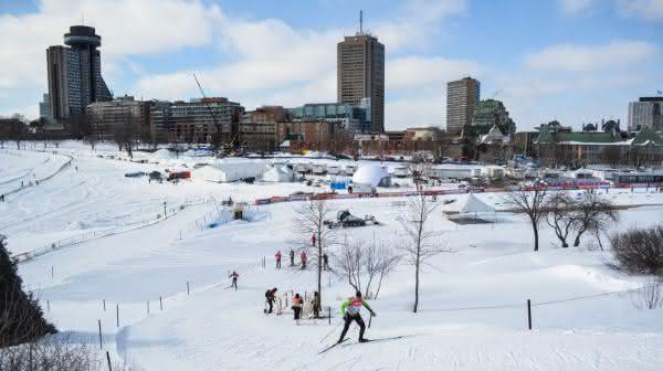 Quebec entre as cidades com mais neve do mundo