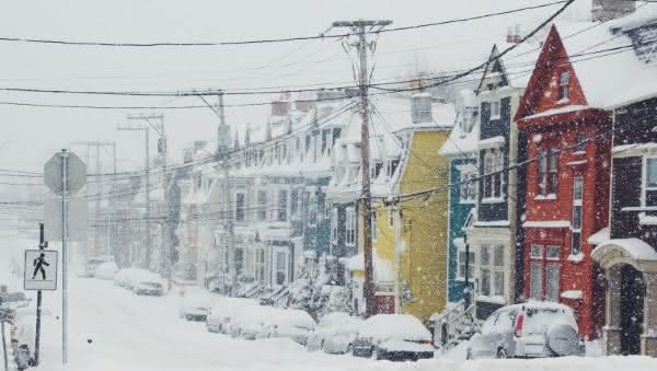 St Johns entre as cidades com mais neve do mundo