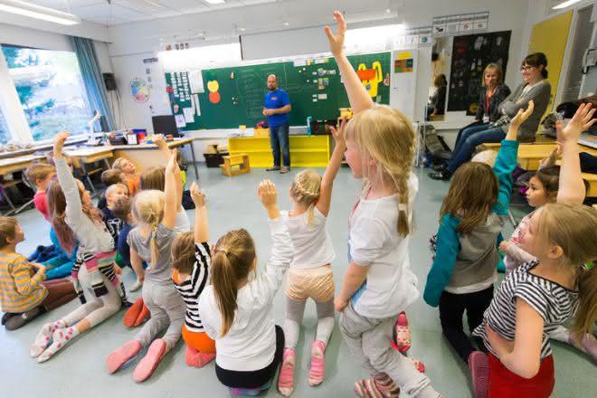 base solida da educacao finlandesa