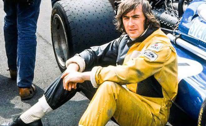 Jackie Stewart entre os pilotos
