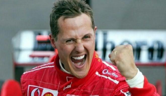 Michael Schumacher entre os pilotos
