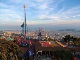 El Tibidabo mejores lugares para visitar en Barcelona España