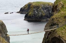El puente de cuerda de Carrick-a-Rede - Irlanda Puentes Más Peligrosos del Mundo