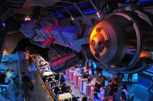 Space Mountain loading area