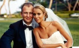 Aleksandra Kokotovic y Andrey Melnichenko bodas más impresionantes de la historia