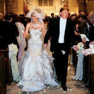Donald Trump y Melania Knauss bodas más impresionantes de la historia