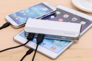 Lumsing Harmonica Style Portable Power Bank Mejores cargadores portátiles para móviles
