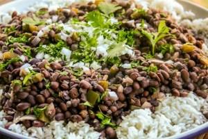 Moros y Cristianos mejores comidas cubanas