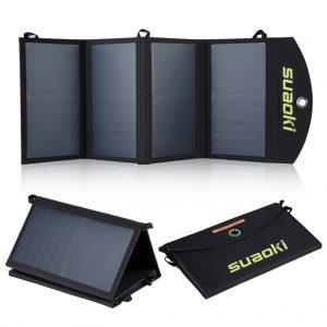 5 mejores cargadores solares para móviles