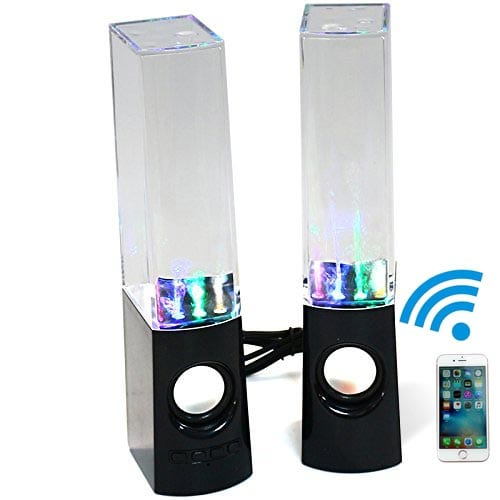 KevenAnna-Bluetooth-Colorful-LED-Fountain-Dancing-Water-Speakers
