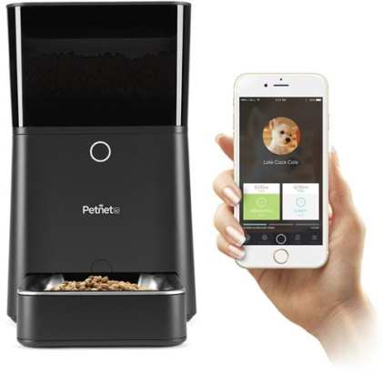 Petnet-SmartFeeder---Automatic-Pet-Feeding-with-your-iPhone