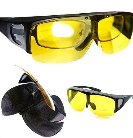 Agstum-Fit-Over-Eyeglasses-Polarized-Night-Driving-Flip-up-Sunglasses-Goggles