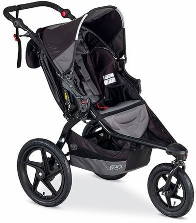 BOB-Revolution-Flex-Stroller,-Black