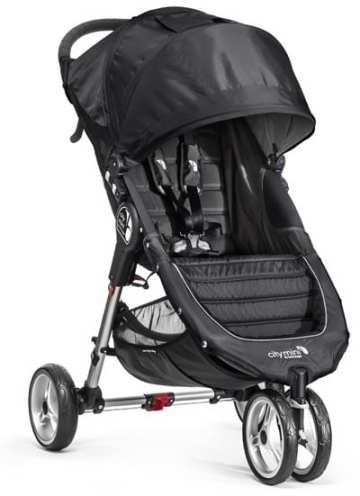 Baby-Jogger-City-Mini-Stroller-In-Black,-Gray-Frame