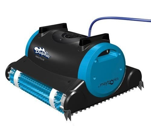 Dolphin-99996323-Dolphin-Nautilus-Robotic-Pool-Cleaner-with-Swivel-Cable,-60-Feet