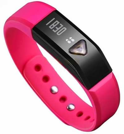 EFOSHM-PINK-Upgrated-K5-Plus-Wireless-Activity-and-Sleep-Monitor-Pedometer-Smart-Fitness-Tracker-Wristband-Watch-Bracelet-for-Men-Women-Boys-Girls-Ladies-Man-Iphone-Sumsung-HTC-(Pink)