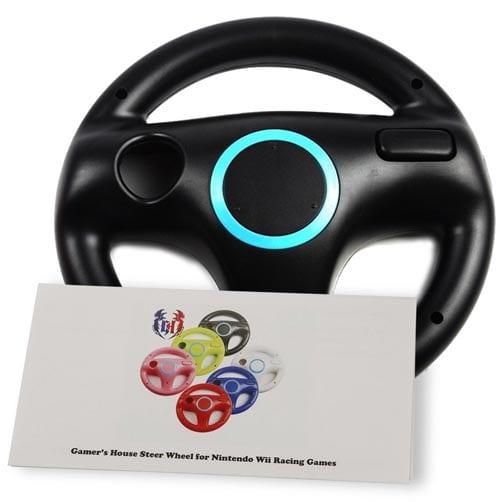 GH-Wii-U-Wii-Steering-Wheel-Black-for-Racing-Games,-Mario-Kart-Racing-Wheels