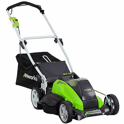GreenWorks-25292-40-Volt-4-Amp-Hour-Lithium-Ion-19-Inch-Lawn-Mower-(Discontinued-by-Manufacturer)