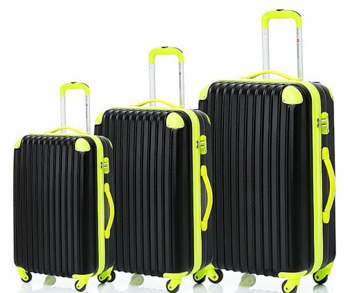 Merax-Travelhouse-3-Piece-PC+ABS-Spinner-Luggage-Set-with-TSA-Lock