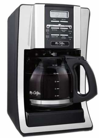 Mr.-Coffee-BVMC-SJX33GT-12-Cup-Programmable-Coffeemaker,-Chrome