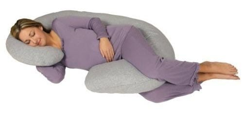 Snoogle-Chic-Jersey---Snoogle-Replacement-Cover-with-Zipper-for-Easy-Use
