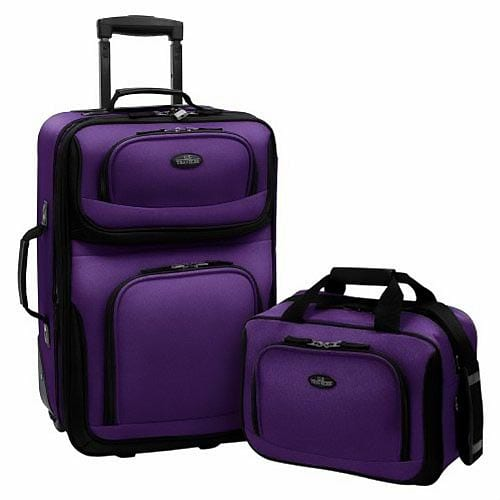 US-Traveler-Rio-Two-Piece-Expandable-Carry-On-Luggage-Set