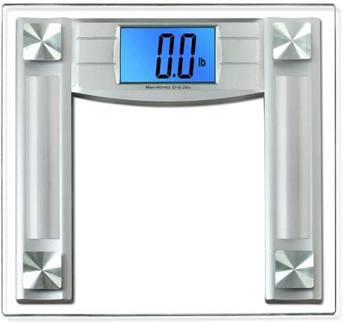 BalanceFrom-High-Accuracy-Digital-Bathroom-Scale-with-4.3ince-Large-Backlight-Display-and-Step-on-Technology,-Silver