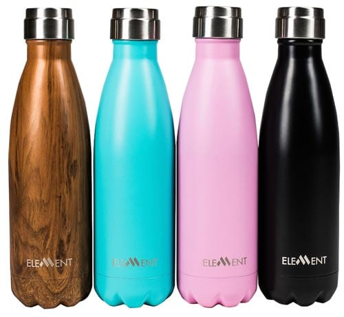 Element---Best-Stainless-Steel-Insulated-Water-Bottle---Gorgeous-Gift-Box-Included---Hot-24-hours---Cold-12-hours---17-oz