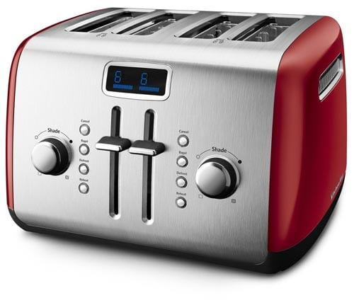 KitchenAid-KMT422ER-4-Slice-Toaster-with-Manual-High-Lift-Lever-and-Digital-Display---Empire-Red