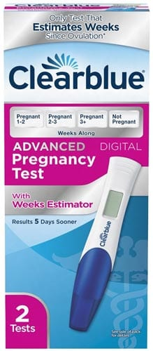 Clearblue-Advanced-Pregnancy-Test-with-Weeks-Estimator,-2-Count