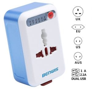 Top 10 Best Travel Power Adapters in 2019 Reviews