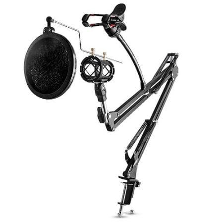 Top 10 Best Microphone Stands in 2018 Reviews