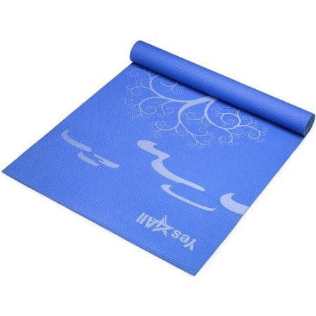 mat bad pin top yoga for knees mats best