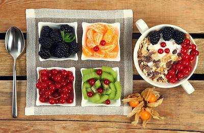 Alimentos alta en fibra con almidón y carbohidratos