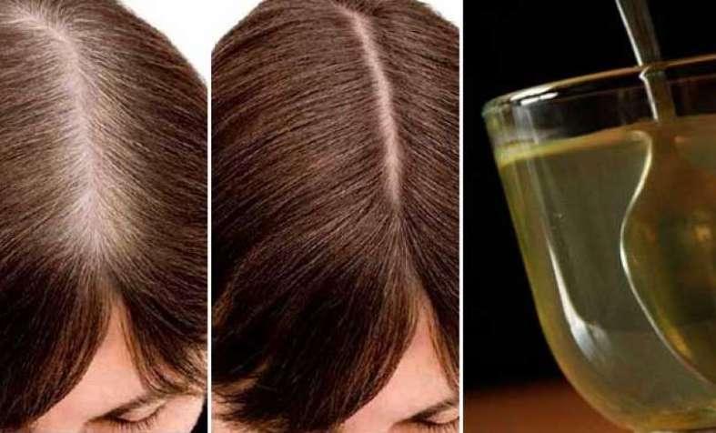 Elimina el cabello blanco