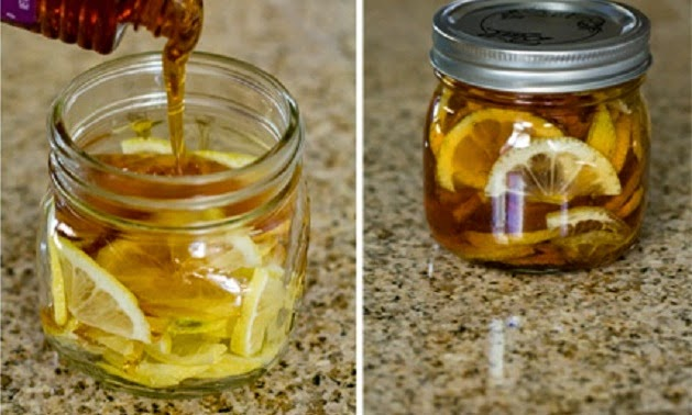 jarabe de jengibre y limón