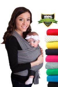 10. CuddleBug Baby Wrap Carrier