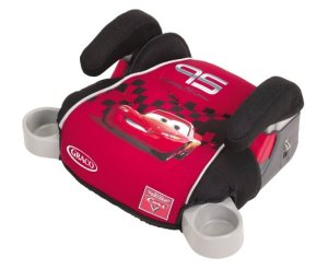 2. Graco Backless TurboBooster Car Seat, World of Cars